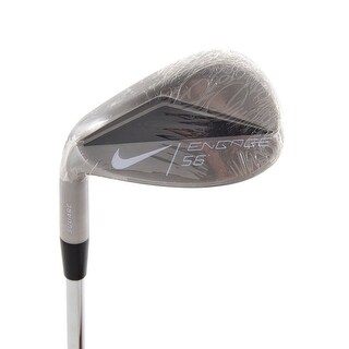 New Nike Engage Square Sand Wedge 56* Dynamic Gold Uniflex Steel LEFT HANDED