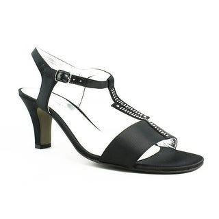 New David Tate Womens Stargaze-001 Black T-Strap Sandals Size 7.5