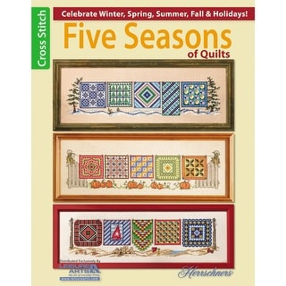 Leisure Arts-Five Seasons Of Quilts