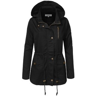 NE PEOPLE Womens Military Anorak Jacket (NEWJ218)