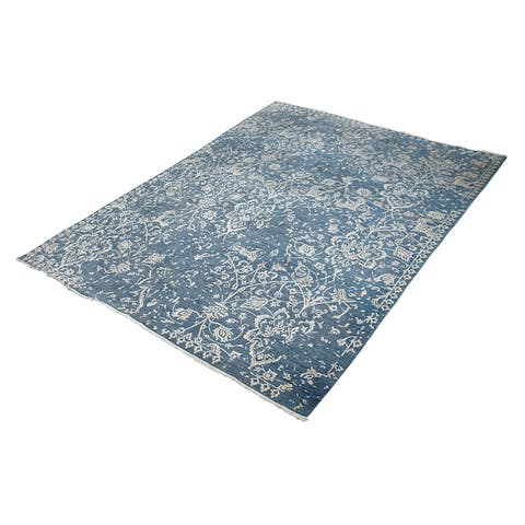 Arielle Transitional Hand-Knotted Area Rug