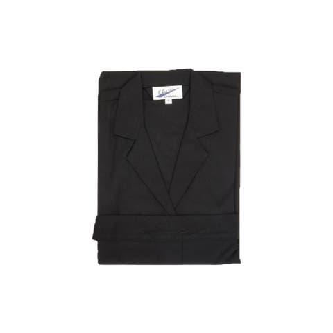 Black Yeshivah Chalet Robe Mens And boys