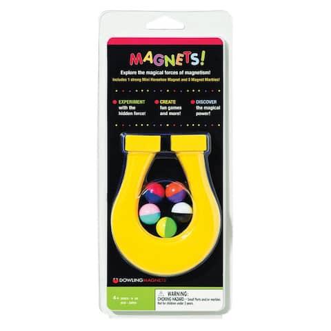 Mini Horseshoe Magnet & 5 Magnet