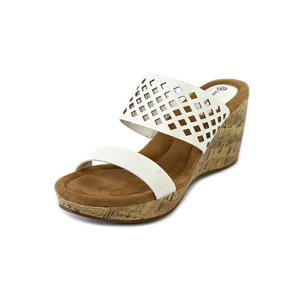 Giani Bernini Pasey Women White Sandals