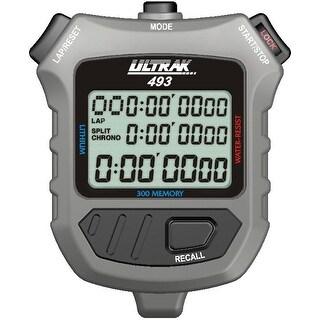 Ultrak 493 - 300 Dual Split Memory Stopwatch with Three Line Display