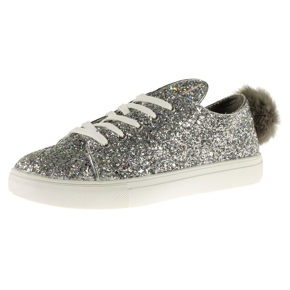 Steve Madden Womens Boca Fashion Sneakers Glitter Casual (2 options  available)