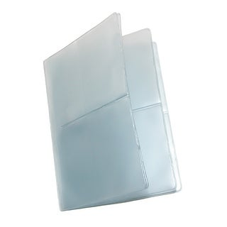 Buxton Vinyl Window Inserts for Hipster and Credit Card Wallets (Pack of 5) - Clear - One Size