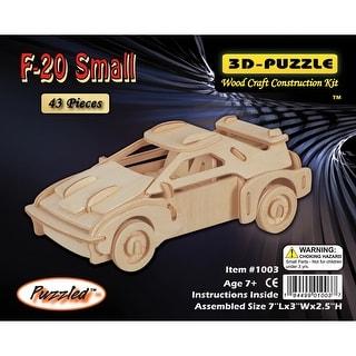 "Jigsaw 3D Puzzle 43 Pieces 7""X3""X2.5""-F-20 Car"
