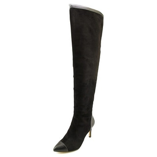 Nina Allure Women Pointed Toe Suede Over the Knee Boot