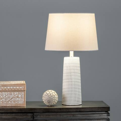 "nuLOOM Patna 23"" Ceramic Table Lamp - 13""W x 13""D x 22.5""H"