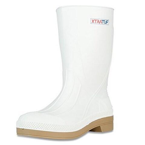 Xtratuf Mens Shrimp Boot, White, 10