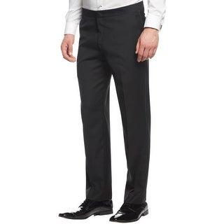 Ryan Seacrest Mens Tuxedo Pant Wool Slim Fit