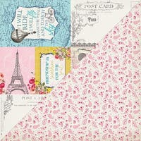"""Dame Double-Sided Cardstock 12""""X12""""-#7"""