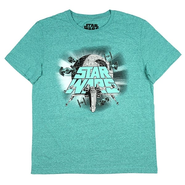 Shop Star Wars Epic Space Battle Ships Men s T-Shirt - Free Shipping On  Orders Over  45 - Overstock.com - 21542148 8a2c2e04e