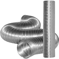 Dundas Jafine 4X8 Alum Flexible Duct MFX48X Unit: EACH Contains 10 per case