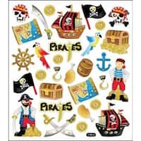 Pirates Glitter - Multicolored Stickers
