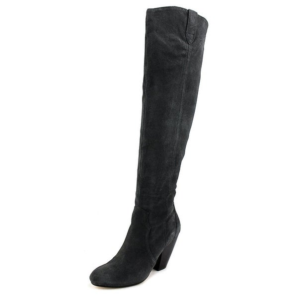 Corso Como San Fran Women Round Toe Suede Over the Knee Boot