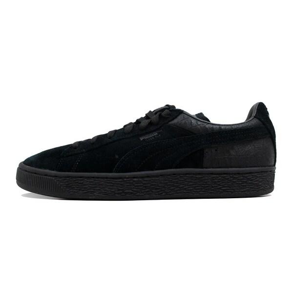 133a738dfc99 ... Men s Athletic Shoes. Puma Men  x27 s Suede Classic Casual Emboss Puma  Black ...