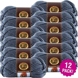 Lion Brand Hometown Usa Yarn 12/Pk-Washington Denim