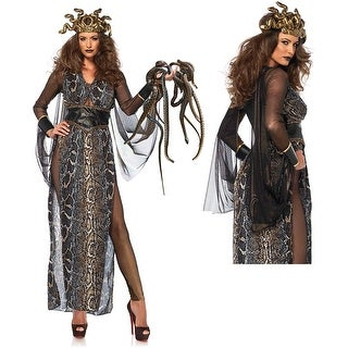 Womens Sexy Medusa Sheer Costume