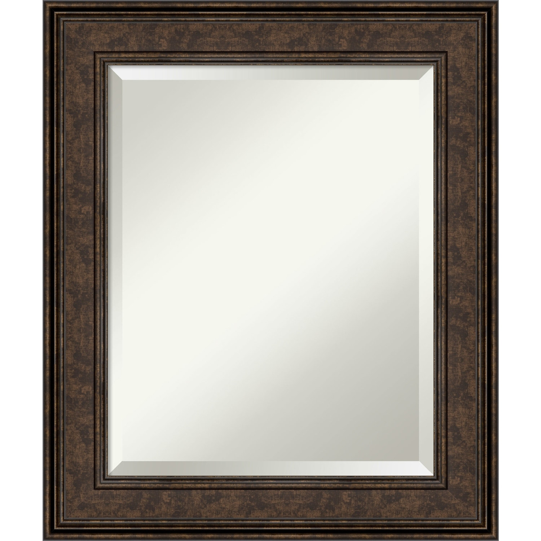 Ridge Bronze Bathroom Vanity Wall Mirror Overstock 28480149
