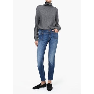 Anthropologie Closed Pedal-X Mid-Rise Slim Jeans - Blue - 30