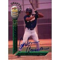 Signed Amerson Gordon Gordon Amerson 1994 Signature Rookies Baseball Card autographed