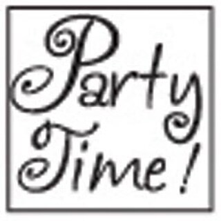 Party Time - Decorative Resin Seal W/Purple Wax