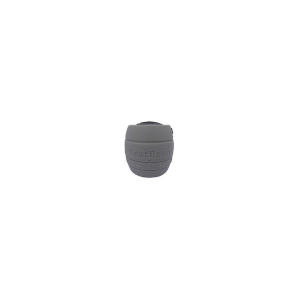 BeatBoom BB3000-SB BeatBoom Speaker System - Wireless Speaker(s) - Black, Silver - 30 ft - Bluetooth - USB - iPod Supported