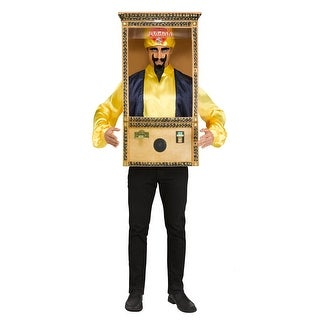 Adult Zoltar Speaks Booth Costume size Standard - standard - one size