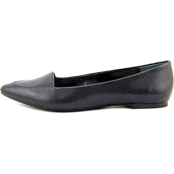 Alfani Womens Lawrent Pointed Toe Slide Flats