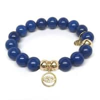 Julieta Jewelry Lucky Eye Charm Blue Jade Bracelet