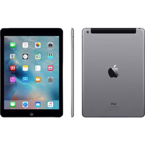 Apple iPad Air (November 2013) 32GB - Space Gray - (AT&T) - Acceptable