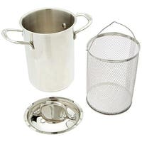 Cuisinart 773-20APW 3 Piece Steaming Set, 3 Qt., Stainless Steel