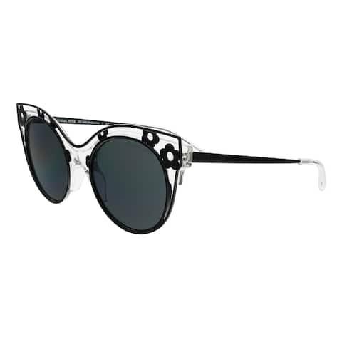 8488ac3dd6cc Michael Kors MK1038 305087 MELBOURNE Black Cateye Sunglasses - 52-20-140