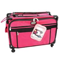 "23""X15""X12"" Pink - Tutto Machine On Wheels Case"