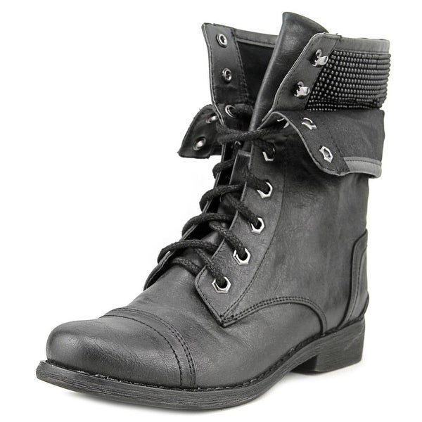 Nine West High Top 38   Round Toe Synthetic  Boot