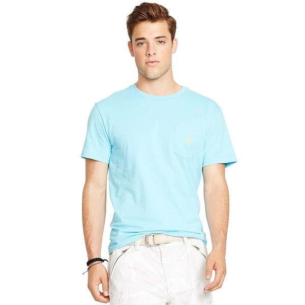 Xx Lauren Shirt Ralph T Blue Polo Crewneck Turquoise Shop Jersey gzqwRTvf