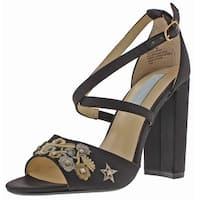Betsey Johnson Finly Women's Peep Toe Dress Sandals