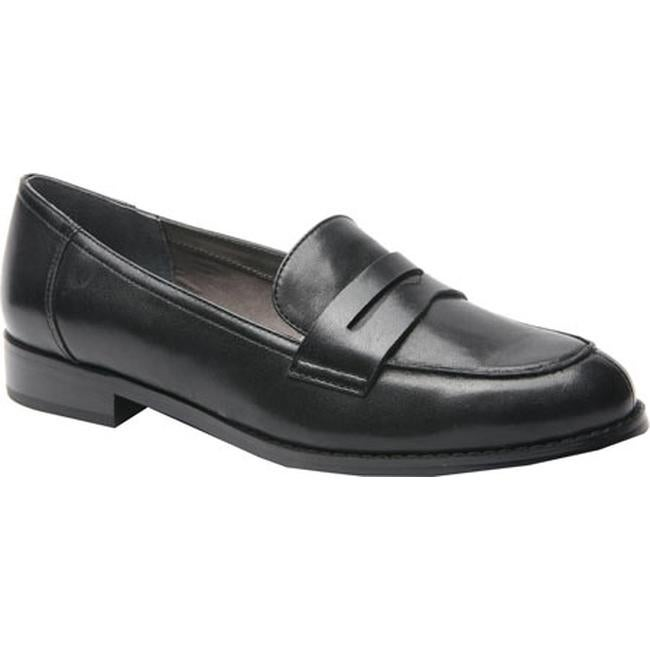 40721ccc6eb Shop Ros Hommerson Women s Delta Penny Loafer Black Leather - On Sale -  Free Shipping Today - Overstock - 12336562