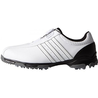 Adidas 360 Traxion BOA White/White/Core Black Golf Shoes F33446/F33213