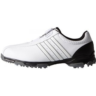 Adidas 360 Traxion BOA White/White/Core Black Golf ShoesF33446/F33213