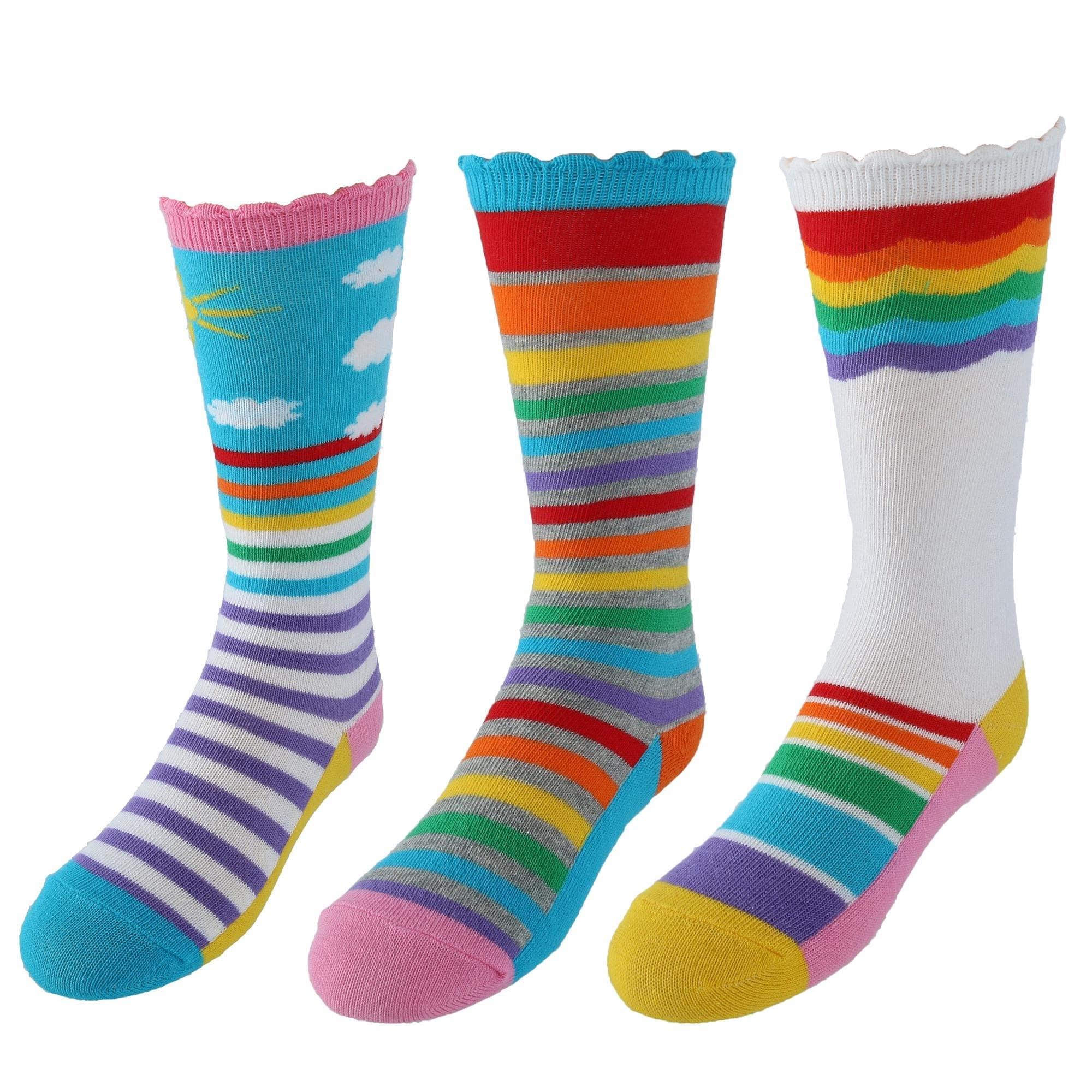 Jefferies Socks Three Pairs of Organic Cotton Socks