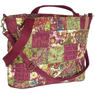 Donna Sharp Women's Jenna Bag Watercolor Patch - US Women's One Size (Size None)
