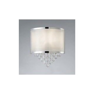 "Canarm IWL435A01 Reese Single Light 12-1/2"" High Wall Sconce - Chrome"