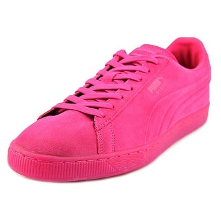 Puma Suede Iced Jr. Men Round Toe Suede Pink Sneakers