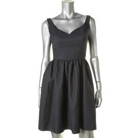 JILL Jill Stuart Womens Sweetheart Textured Casual Dress - 2