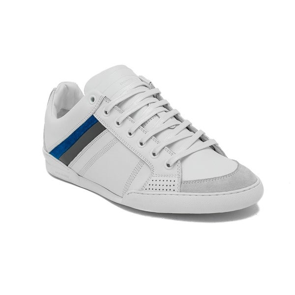 c1a664ca1b6 Shop Dior Homme Men s Leather Low-Top Sneaker Shoes White - Free ...