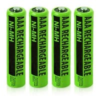 Replacement Panasonic NiMH AAA Cordless Phone Battery - 630mAh / 1.2v (4 Pack)