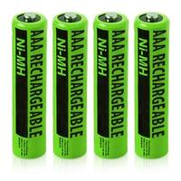 Replacement Panasonic NiMH AAA Battery for KX-TG1061M  /KX-TG6592T  /KX-TGC350  Phone Models- 4Pk